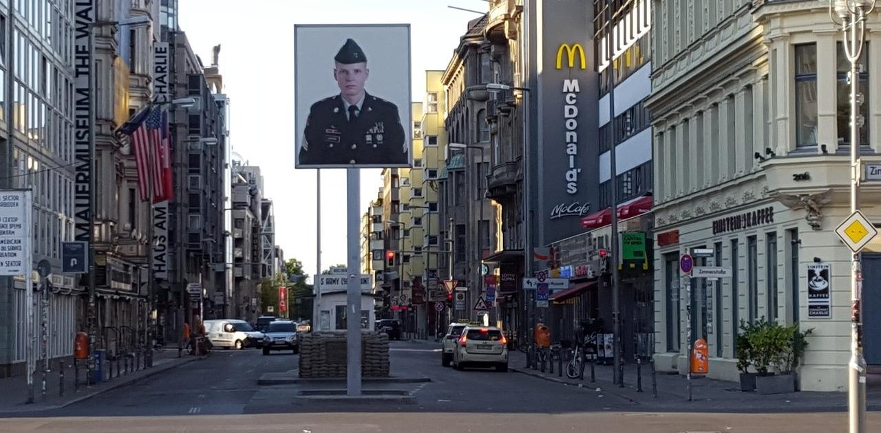 Checkpoint Charlie Bebauung